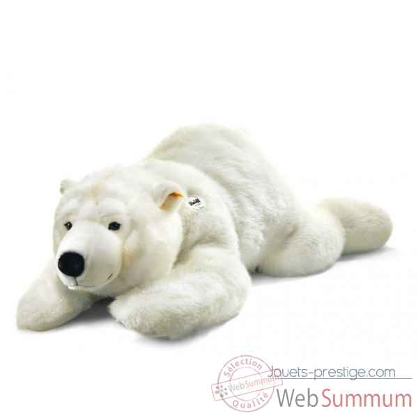 Peluche steiff ours polaire arco, blanc -063060