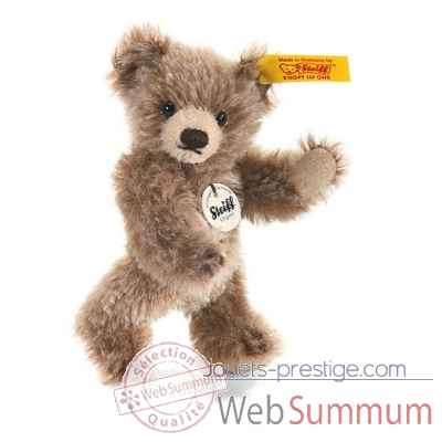 Peluche steiff ours teddy miniature, brun chine -040023