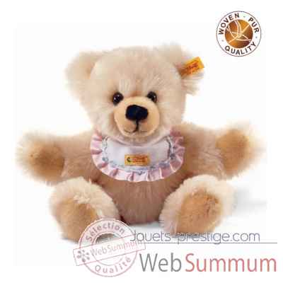 Peluche steiff ours teddy naissance, creme -014208