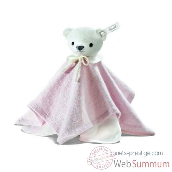 Peluche steiff selection ours teddy doudou, rose -239304