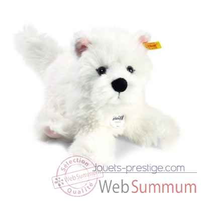West highland terrier, blanc STEIFF -076992