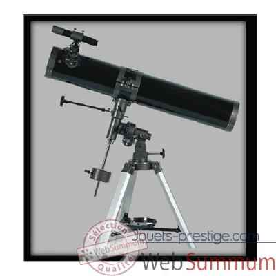 Fuzyon optics-Telescope 114 x 1000 mm, monture equatoriale motorise.