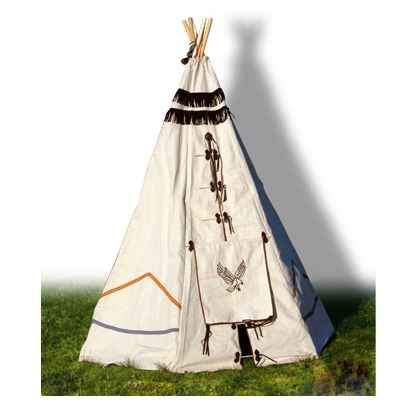 tente tipi d 39 indien pm dans tentes indiens de jouet plein. Black Bedroom Furniture Sets. Home Design Ideas