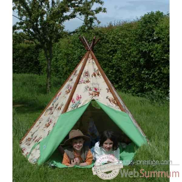 tente tipi d 39 indien pm dans tentes indiens de jouet plein air sur jouets prestige. Black Bedroom Furniture Sets. Home Design Ideas