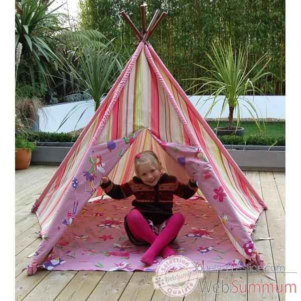 tipi tente pour enfant maison des elfes the old basket 51004a photos jouets prestige de the. Black Bedroom Furniture Sets. Home Design Ideas