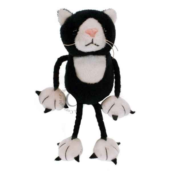 Chat (noir et blanc) * the puppet company -pc002201