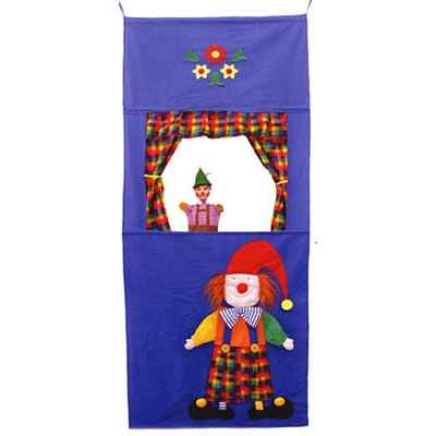 Th��tre de marionnette Clown Kersa - 90050