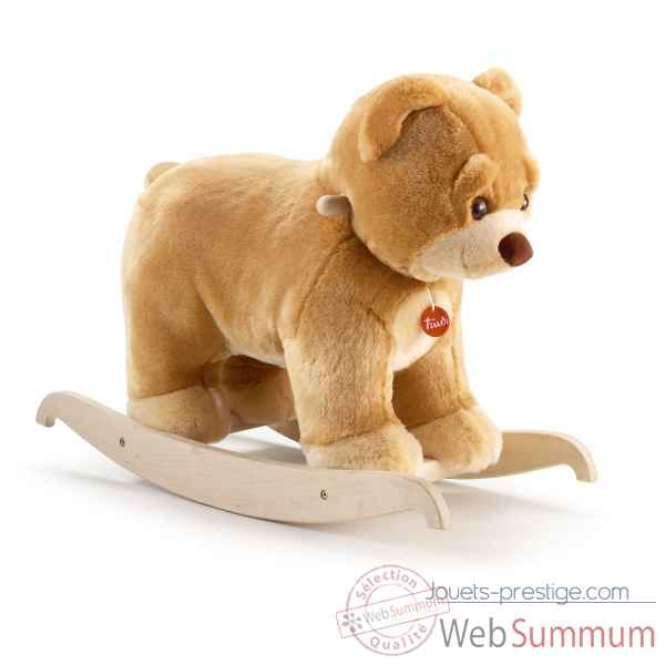 Ours à bascule beige Trudi -28991 dans Jouets