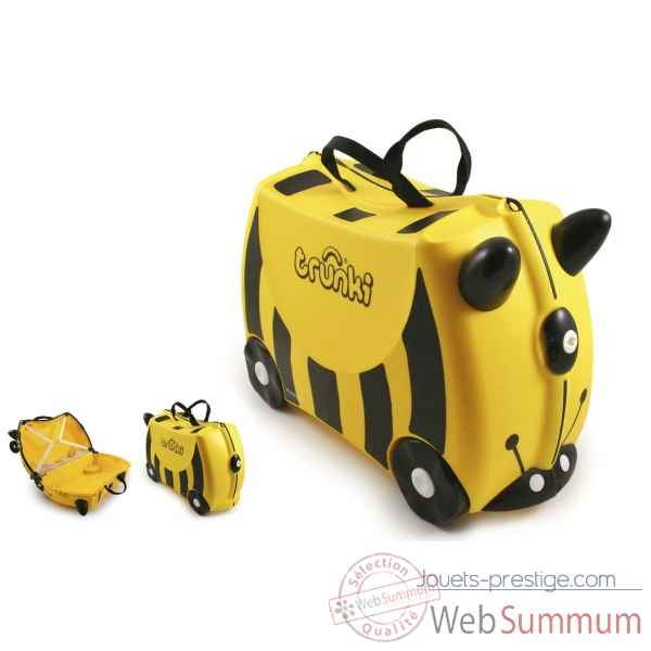 Porteur valise trunki ride-on abeille bernard -9220012