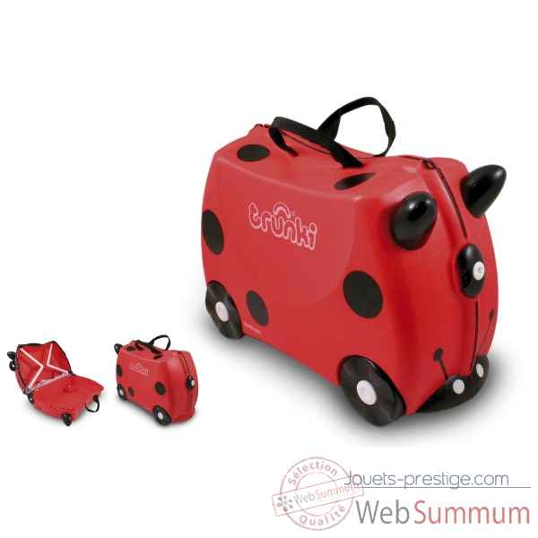 Porteur valise trunki ride-on coccinelle harley -9220009