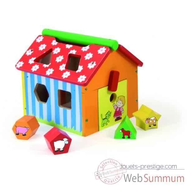 bo te formes ferme jouet vilac 2475 dans tous les. Black Bedroom Furniture Sets. Home Design Ideas