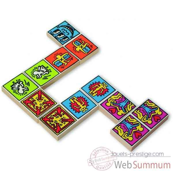 Domino couleur keith haring - Jouet Vilac 9266