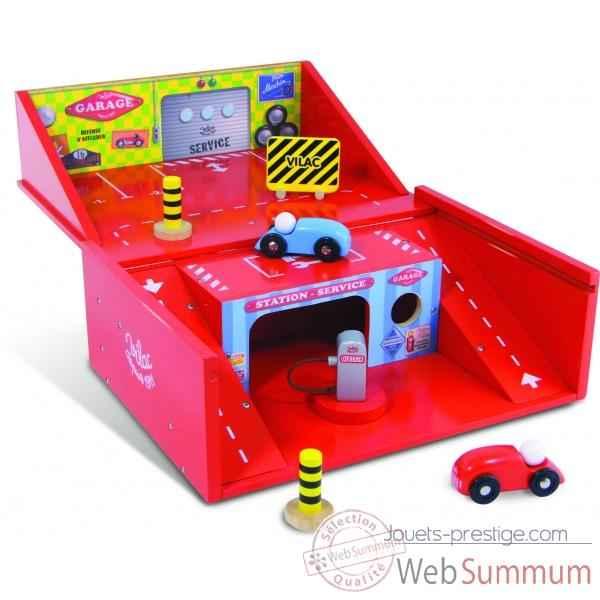 Garage En Bois Vilac : Garage valise – Jouet Vilac 2328 dans Tous les jouets sur Jouets