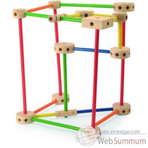 Grand jeu de construction jouet vilac 2132 dans tous les jouets sur jouets prestige for Jeu construction bois