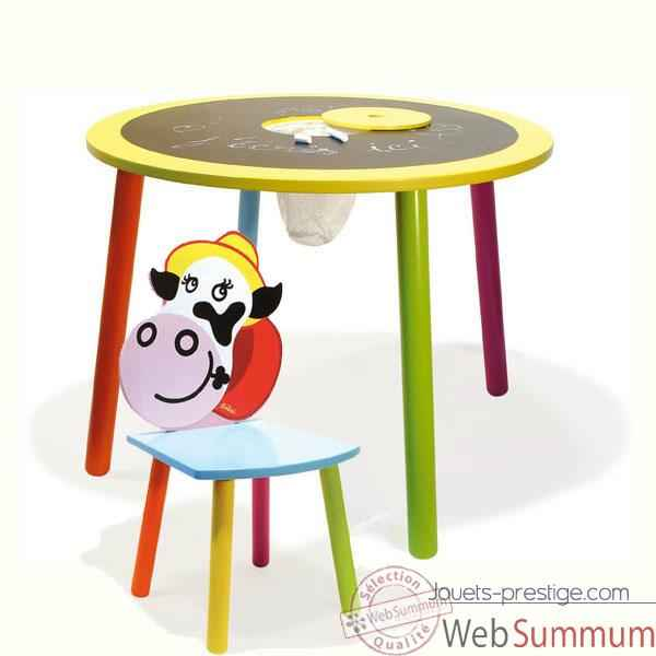 Video Table tableau et la chaise Rosy La vache - Vilac 8806