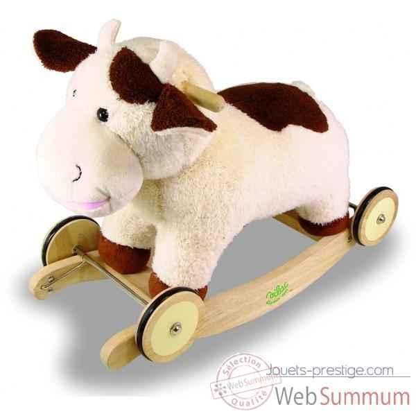 Vache à bascule - Jouet Vilac 1078