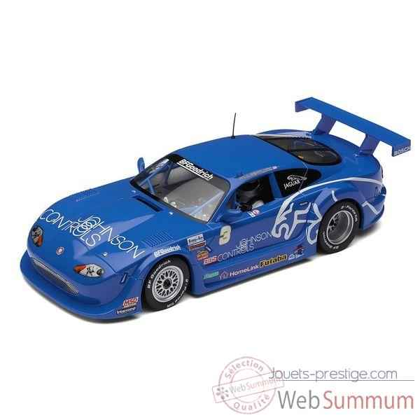 Voiture Endurance High Detail Scalextric Jaguar XKRS GTS Rocketspots Vainqueur 2002 -sca2908