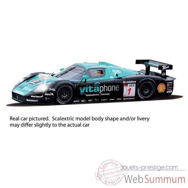 Voiture Endurance High Detail Scalextric Maserati MC12 Scuderia Playteam -sca2904