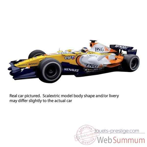 Voiture Scalextric Renault 2009 Alonso -sca2987
