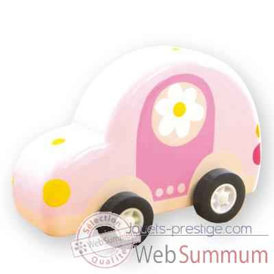 voiture friction le coin des enfants voiture fille de jouets en bois. Black Bedroom Furniture Sets. Home Design Ideas