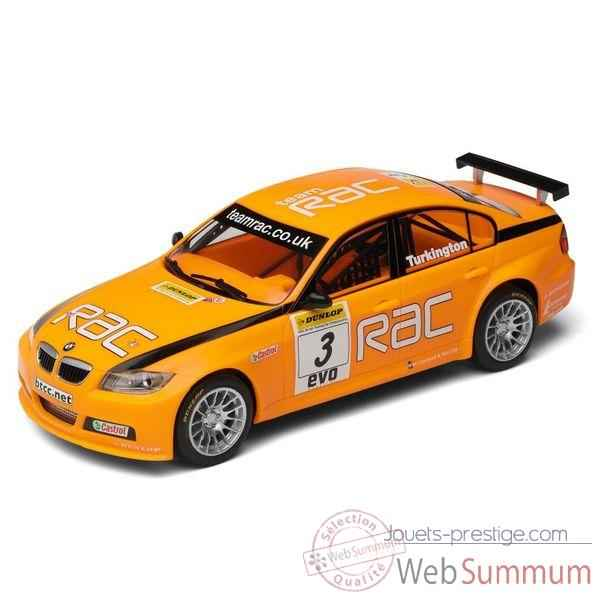 Voiture Tourisme High Detail Scalextric BMW 320 SI Turkington BTCC 2007 Independents Cup Winner -sca2909