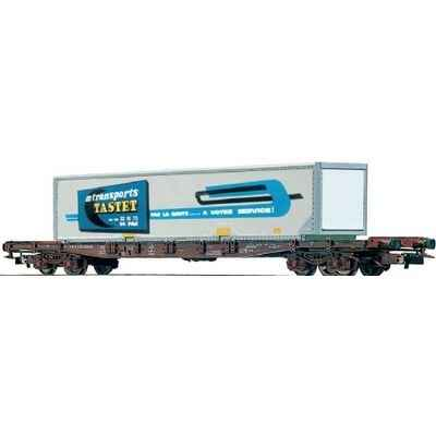 Wagon Plat Jouef Container Tastet -hj6019
