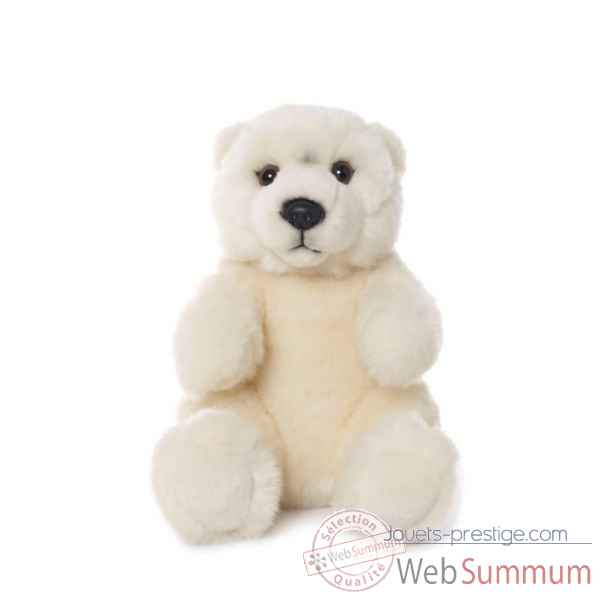 Wwf ours polaire assis, 15 cm -15 187 009